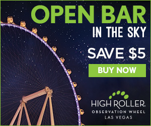 High Roller Open Bar