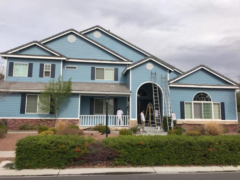 Painting Las Vegas Exterior Home
