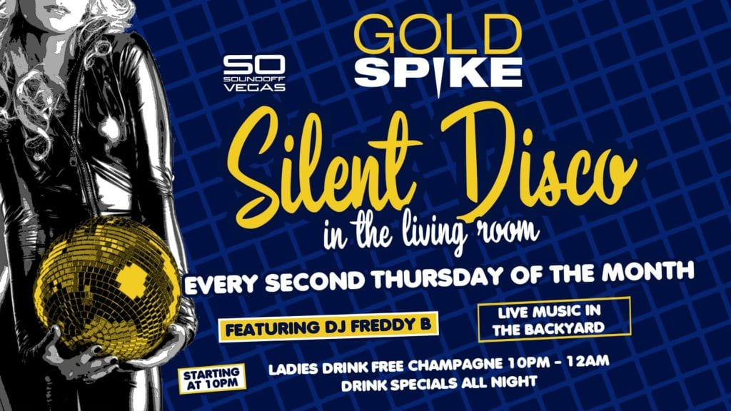 Silent Disco at Gold Spike