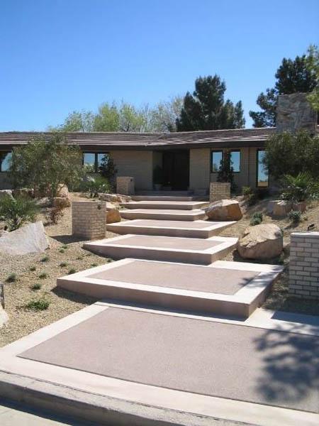 home steps concrete