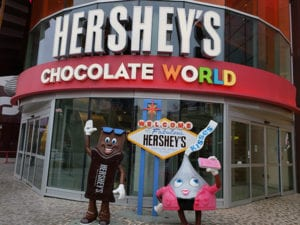 Vegas Chocolate Tour Hersheys Chocolate World