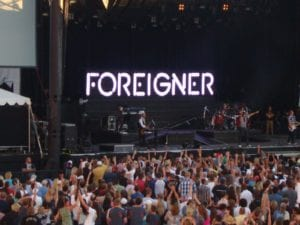 Foreigner in Concert
