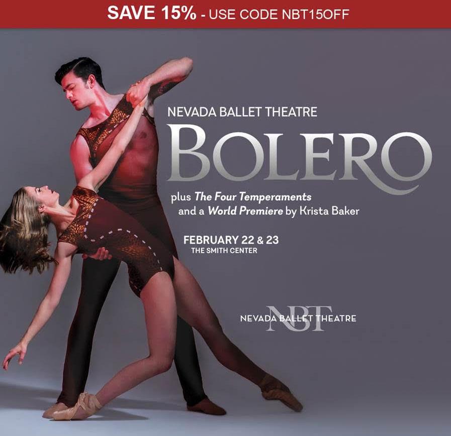 15% OFF Bolero's Sizzling Vegas Debut