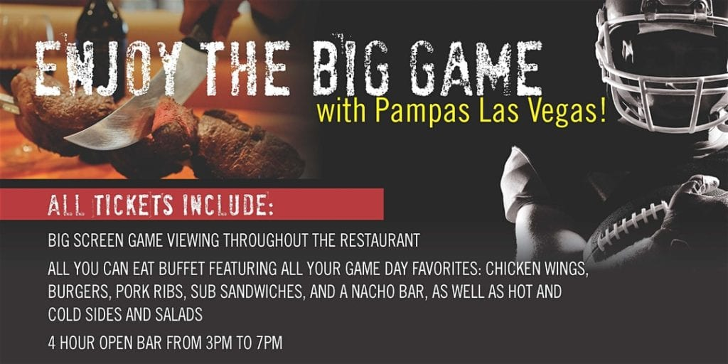 Big Game Party Pampas