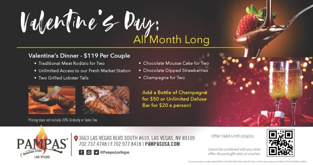Valentine's Day Pampas Las Vegas
