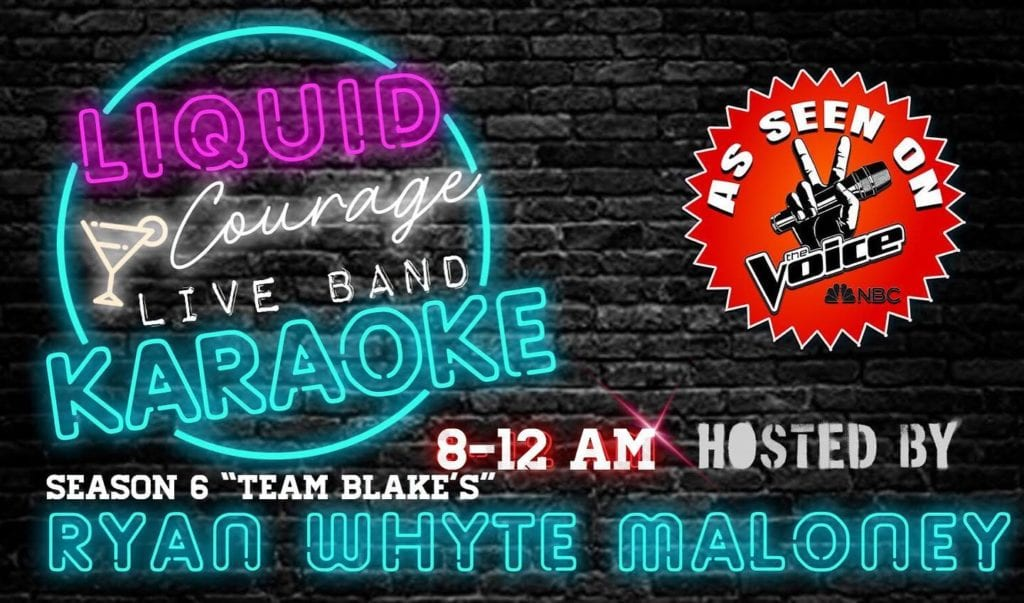 Ryan Whyte Maloney Live Band Karaoke