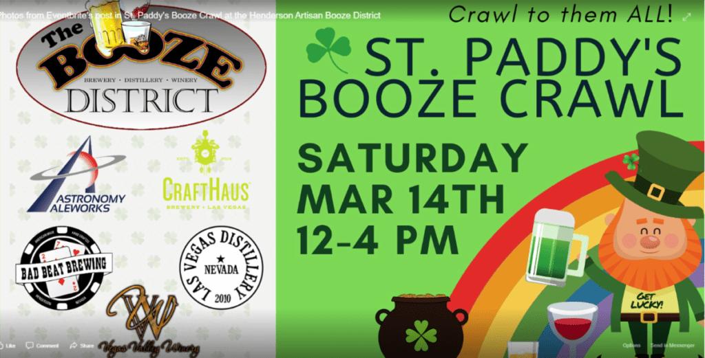 St.Paddy's Day Booze Crawl