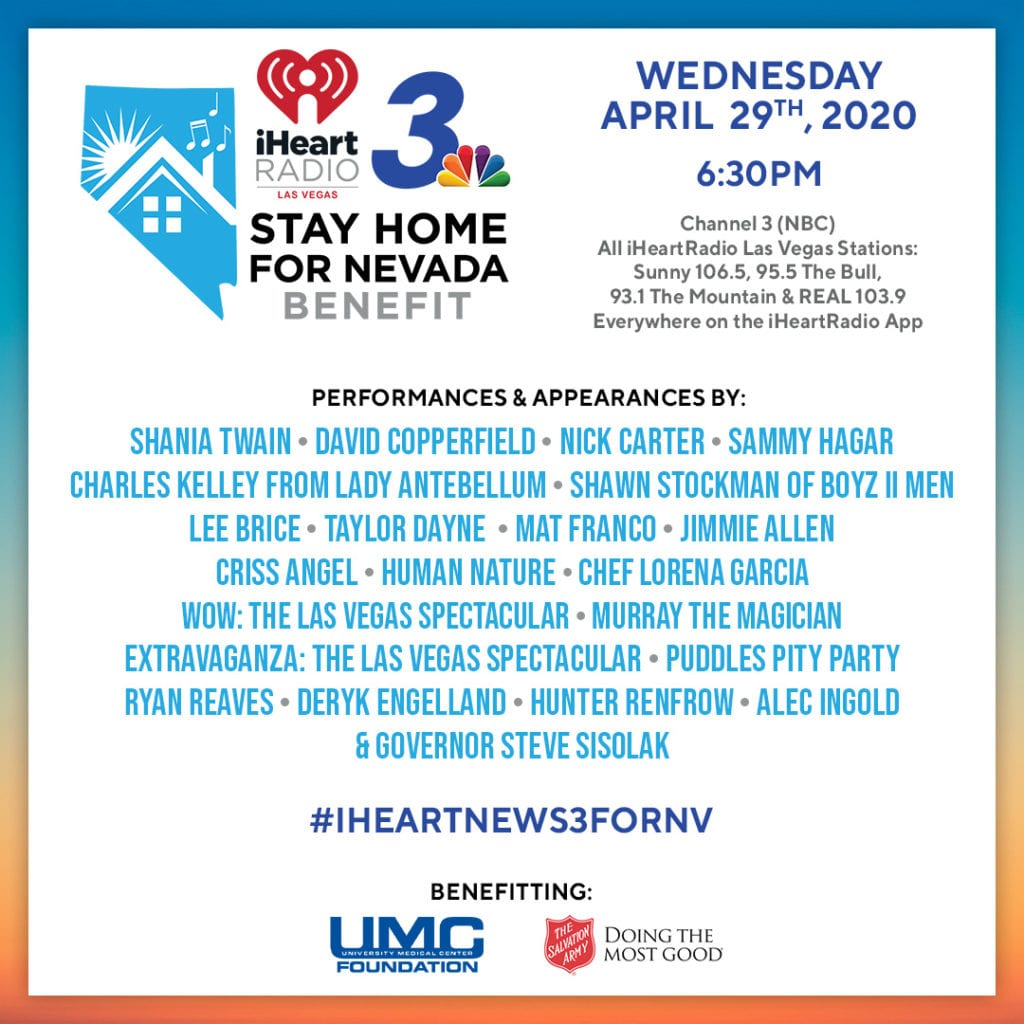 Stay Home for Nevada Benefit