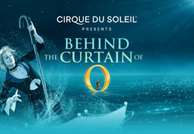 Behind the Curtain of O by Cirque du Soleil