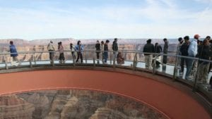 Grand Canyon West Bus Tour with skywalk from Las Vegas