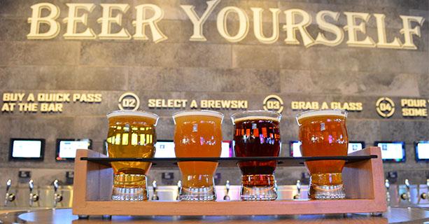 Las Vegas Flight of Flights beer