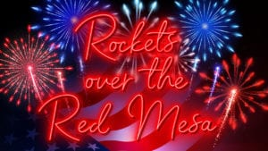 Rockets Over the Red Mesa