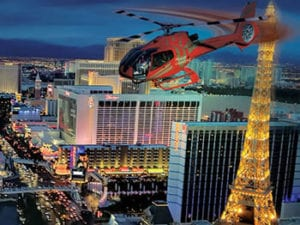 Strip Helicopter Tour