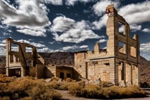 Rhyolite Nevada Ghost Town