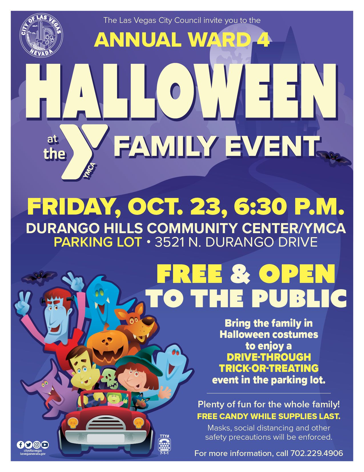 Halloween at the Y Trunk-or-Treat