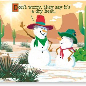 Las Vegas Snowman Christmas