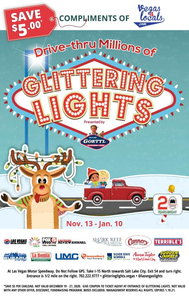 Glittering Lights $5 Off Coupon