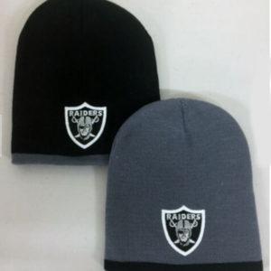 Las Vegas Raiders Embroidered Skull Cap Hat
