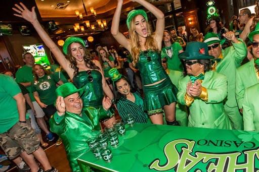 St. Patrick's Day in Las Vegas