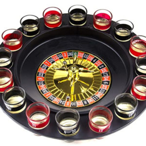 shot glass roulette table