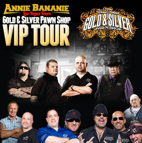 Pawn Stars tour coupon Las Vegas Gold & Silver Pawn Shop Tour