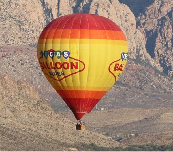 Vegas Hot Air Balloon Rides discount tickets