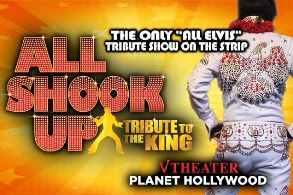 All Shook Up Elvis Tribute Show Las Vegas Discount Tickets Coupon V Theater