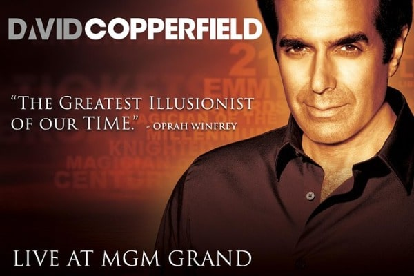 David Copperfield Discount Tickets Coupon