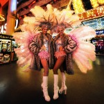 Fremont Street Experience Street Performers Buskers Las Vegas