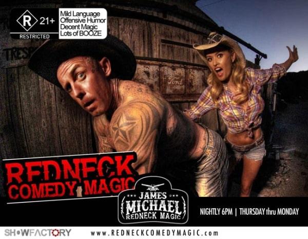 James Michael Redneck Comedy Discount Tickets