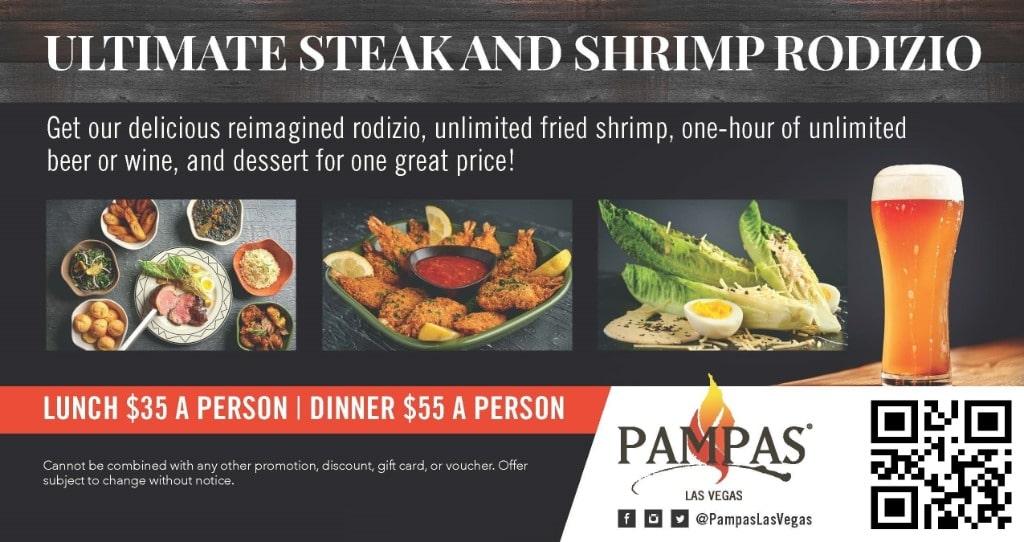 Pampas Las Vegas Discount Coupon