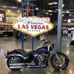 Photo on a Harley Davidson