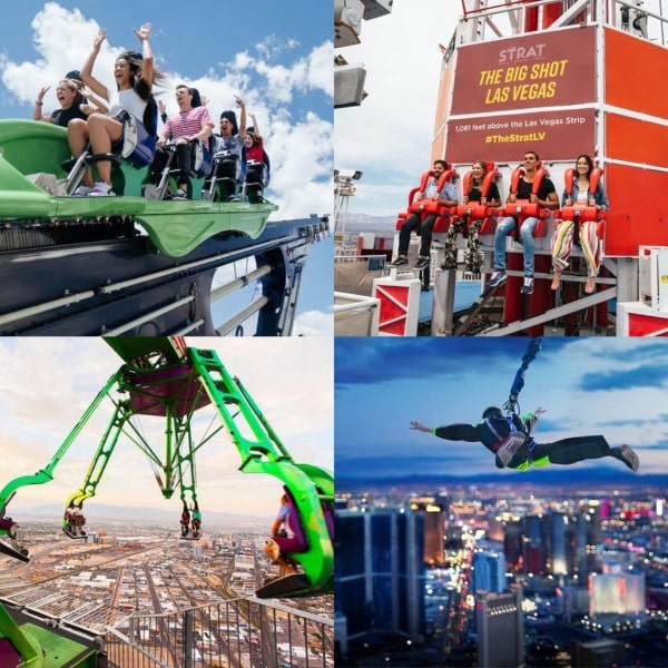 Stratosphere Thrill Rides Discount Coupons