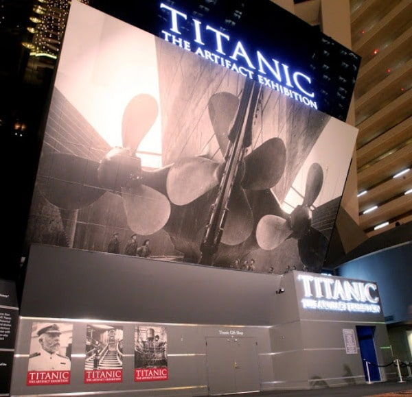 Titanic the Artifact Exhibition discount tickets