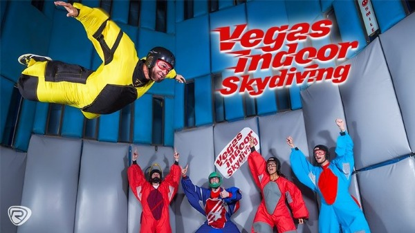 Vegas Indoor Skydiving Discount Coupon