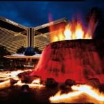 Volcano Eruption Mirage Hotel Las Vegas