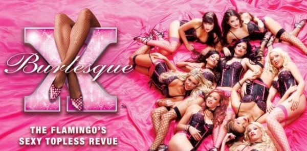 X Burlesque Topless Show Discount Tickets coupon