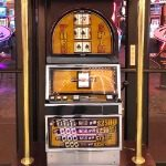 free slot machine pulls Fremont Street casinos Las Vegas