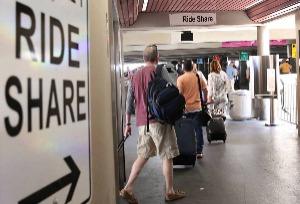 Las Vegas Airport Ride Share Lyft Uber