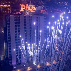 Plaza Las Vegas Fourth of July Fireworks