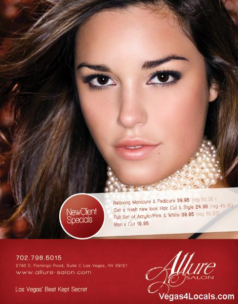 Allure Salon Las Vegas Coupon
