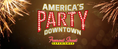 America's Party New Year's Eve Downtown Las Vegas