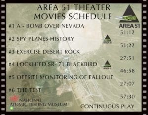 Area 51 Theater Movies Schedule