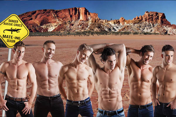Aussie Hunks Show Coupon