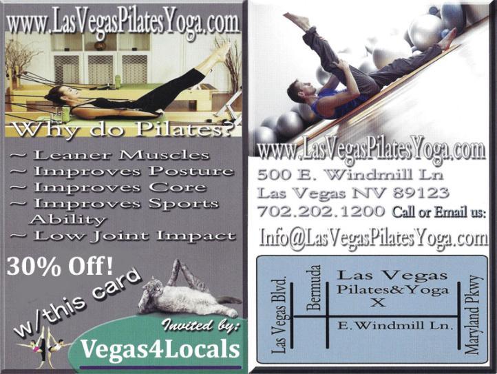 Las Vegas Pilates Plus Yoga Studio Coupon