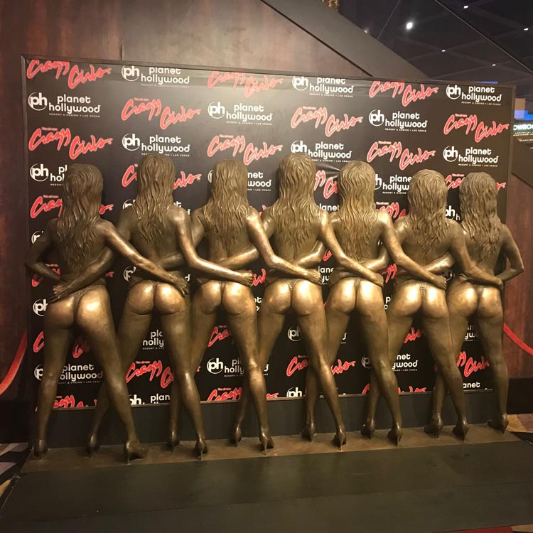Crazy Girls Butts Statute