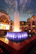 Free Fountain Show at Miracle Mile Shops Planet Hollywood Las Vegas