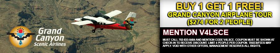 grand canyon airplane tour coupon
