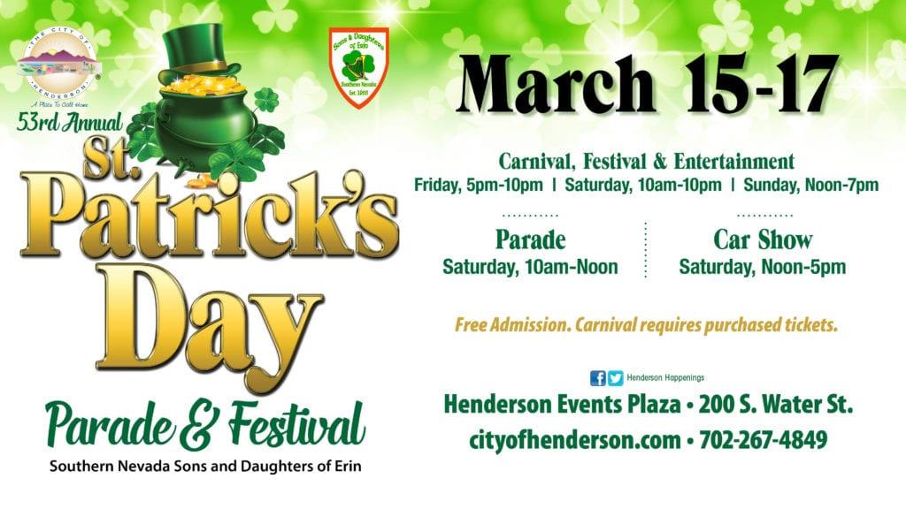 Henderson St. Patrick's Day Parade & Festival