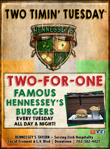 Hennesseys 2 for 1